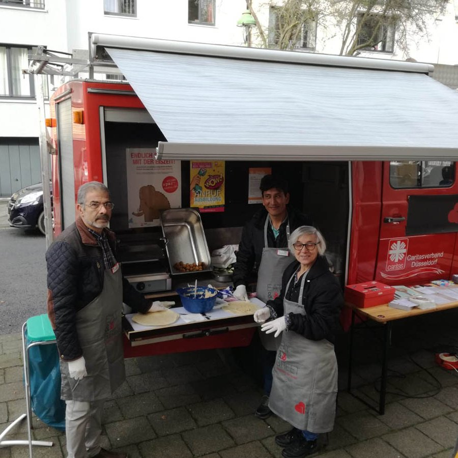 Aktion Neue Nachbarn | EAT&GREET: Food-Truck der Aktion Neue ...